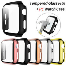 3D PC Bumper Case Protector Cover For Apple Watch Series 5 4 iWatch 40mm 44mm