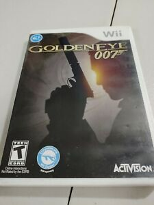 GoldenEye 007 (Nintendo Wii, 2010) Complete CIB Rare Not for Resale Tested