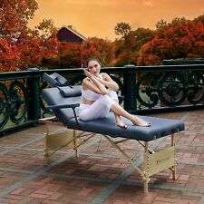Master Massage 31 inch 3 section Coronado Salon Portable Table Package with arms