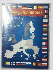 Etui/set Euros Lituanie 2015