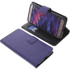 Tasche für MEDION Life P5006 Book-Style Schutz Hülle Handytasche Buch Blau
