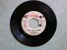 The IMPERIALS 45 Tears On My Pillow END label  DOO WOP e1027