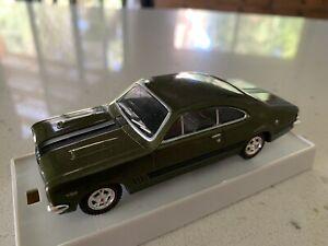 Trax. 1/43 Scale. TR19C. 1969, Holden HT Monaro GTS, In Verdoro Green Metallic.