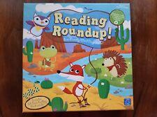 Reading Roundup Word Play Board Game Pre K Kindergarten Sight Words