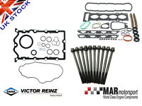 Mini Cooper S JCW Supercharged R52 R53 Reinz FULL Gasket SET with Head Bolts