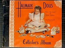 Vintage Hallmark Dolls Collector's Album, From The Land Of Make Believe