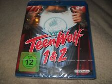 Teen Wolf 1 and 2 Two-Disc Set Region B (READ DETAILS!) BRAND NEW Blu-ray