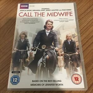 Call The Midwife Series 1 Complete DVD (2012, 2-Disc Set) Jenny Agutter Cert 12