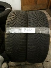2 tyres hankook 195 65 R15 91t m+s Used 5/5mm (B187) Free Fitting