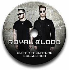 ROYAL BLOOD ROCK BASS GUITAR TABS TABLATURE SONG BOOK SOFTWARE CD