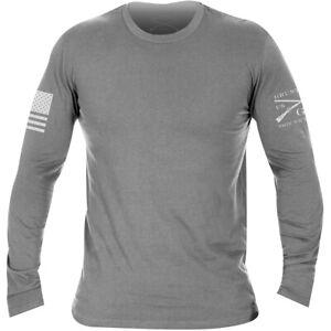 Grunt Style Basic Long Sleeve T-Shirt - Heather Gray