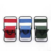 Outdoor Folding Chair Camping Hiking Fishing Portable BBQ Lightweight Seat Bench