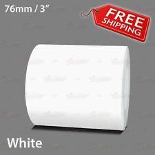 "WHITE 76mm 3"" Roll PIN STRIPE Car Striping Trim Line TAPE Decal Vinyl Sticker"