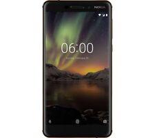 NOKIA Nokia 6 (2018) 16MP camera - 32 GB, Black