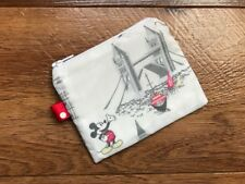 MINI COIN PURSE (11x9cm) HANDMADE WITH CATH KIDSTON MICKEY IN LONDON FABRIC