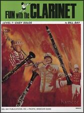 Fun With The Clarinet Level 1-Easy Solos Sheet Music Book