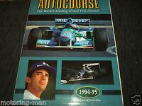 AUTOCOURSE 1994 95 AYRTON SENNA TRAGEDY MICHAEL SCHUMACHER SAN MARINO GP FW16 F1