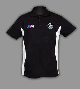 BMW M POWER Polo T-shirt T shirt chemise Homme Broderie Fait en EUROPE XS - 6XL