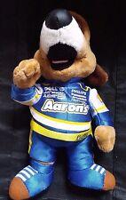 "Aarons Lucky Dog Michael Waltrip Racing Nascar 10"" Stuffed Animal Plush Toy 2010"
