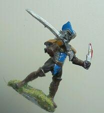 1x 3044 Drow Elfo Oscuro rafm minitures elfos Assassin Doble blandiendo la espada y daga