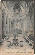 CPA-50- Saint LO interieur de la cathédrale le choeur