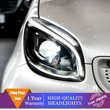 For Benz Smart ForTwo 2016-2019 Headlight Single Lens Beam Projector HID LED DRL