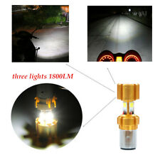 Motorcycle BA20sd COB lamp beads led bulb modification glare built-in headlights