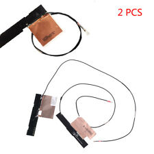 2PCS/Set Wireless IPEX MHF4 Antenna WiFi Cable Dual Band Laptop for NGFF M.2