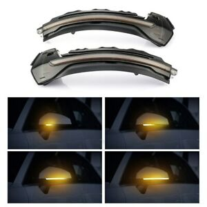 LED Dynamic Turn Signal Light Side Mirror Lamp For Audi A3 S3 RS3 8V 2013-2018