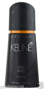 Keune Design Salt Mist 200ml 6.8oz FREE SHIPPING WORLDWIDE