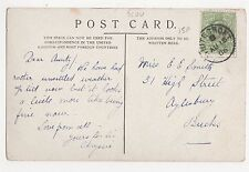 Whitecroft 1906 Postmark on London Postcard, A862