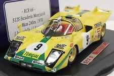 RACER - SLOT IT RCR66 FERRARI 512S LE MANS 1970 NEW 1/32 SLOT CAR IN DISPLAY