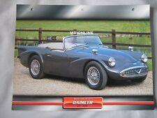 Daimler SP 250 Dream Cars Card