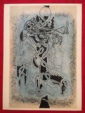 George Braque, Horse, Original Mourlot Lithograph 1955, Vintage, Rare
