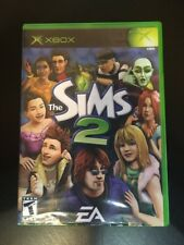 The Sims 2 - ( Microsoft Xbox , 2005 ) Complete W/box & Manual !