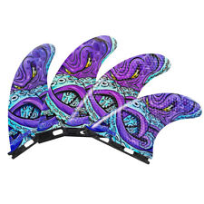New listing 3Dfins - Quad Kracken (Futures) - Medium - Thruster - Surfboard Fins - New