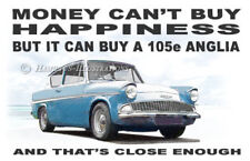 Ford Anglia 105e 106e Saloon Novelty Fridge Magnet