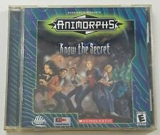 Animorphs Know the Secret PC Game 2000 Scholastic Windows 95/98