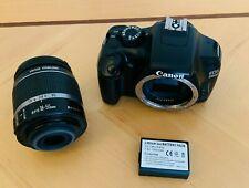 Canon EOS 1100D 12.2MP appareil photo reflex + Canon Kit EF S IS 18-55 mm