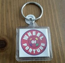 Wheel of Fortune/Jeopardy Game Show Plastic Collectible KEYCHAIN - NEW