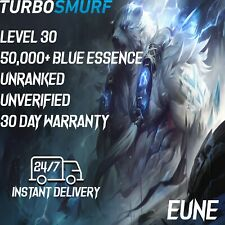 League of Legends Account EUNE Unranked & Unverified Smurf 50,000 - 60,000 BE