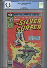 Fantasy Masterpieces V2 #2 CGC 9.6 1980 Marvel Comic Silver Surfer:  New Frame