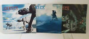 Cinefex 2, 3 and 13 ~ Vintage ~ STAR WARS Cinefex Set