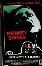 Monkey Shines (1988) VHS Columbia 1a Ed. George A. Romero