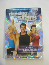 Dancing With The Stars, Cardio Dance (DVD 2007) Very Good Condition (GS25-3)