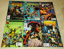 2005 Marvel Knights Comics Wolverine:Enemy of the State #20, 21, 22, 23, 24,& 25