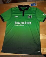 Jako Hannover 96 Trikot Gr. XL Away Auswärtstrikot kurzarm grün 2017/18 HA4217A