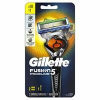 Gillette Fusion5 ProGlide Men's Razor, Handle & 2 Blade Refills