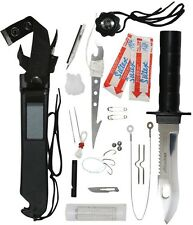 Rothco Silver Blade Deluxe Adventurer Survival Kit Knife Tactical Knife 3235