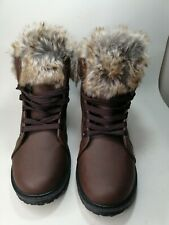 Ladies Uk6 Fur Lined Boots